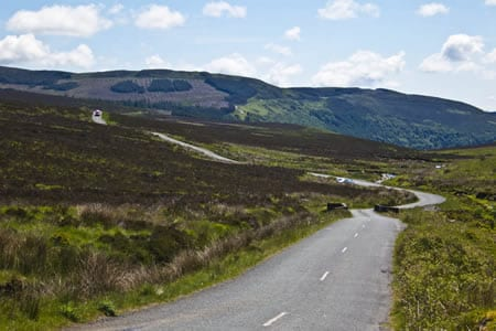 Sally Gap.Join us on our Ireland car tour