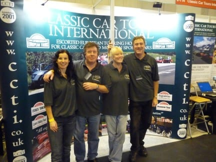 The CCTI stand at the 2010 NEC Classic Motor Show