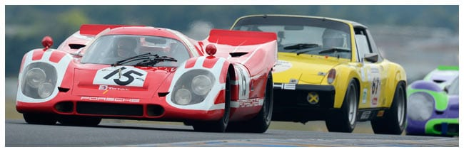 Join us on our 2016 Le Mans Classic car tour