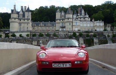 Chateau Usse.Join us on our 2016 Le Mans Classic tour