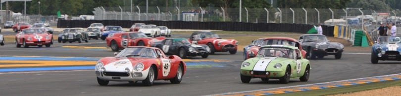 Join us on our 2016 Le Mans Classic tour