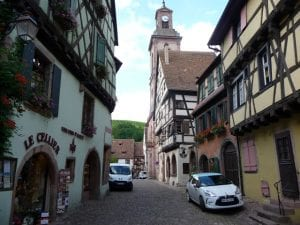 Riquewihr.Join us on our 2019 tour to watch the Mille Miglia