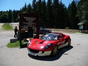 Walparkplatz Kreuzweg summit 1,079 metres.Join us on our 2019 tour to watch the Mille Miglia
