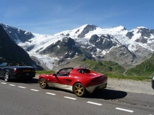 Susten Pass, Switzerland.Join us on our 2019 tour to watch the Mille Miglia