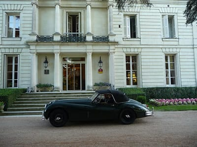 Chateau Rochecotte, Loire Valley.Join us on our 2017 Corsica Car Tour, Classic Car Tours International