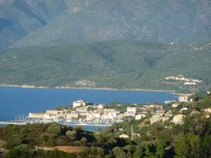 St Florent, Corsica. Join us on our 2017 Corsica car tour.