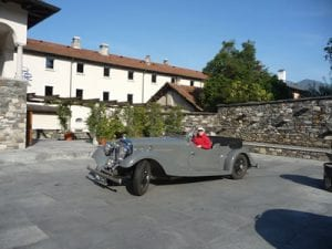 San Rocco hotel, Orta San Giulio,Italy.Join us on our 2019 tour to watch the Mille Miglia