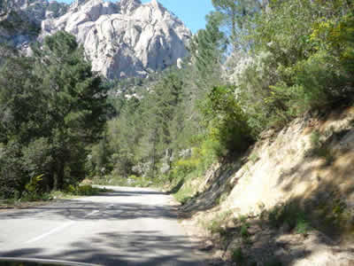 Col de Bavella, Corsica.Join us on our 2017 Corsica car tour.