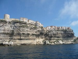 Bonifacio at the southern tip of Corsica.Join us on our 2017 Corsica car tour.