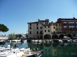 Desenzano, Lake Garda, our hotel base.Join us on our 2019 tour to watch the Mille Miglia