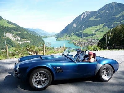 Bruinigpass, Switzerland. Join us on our 2019 tour to watch the Mille Miglia