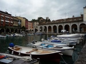 Desenzano, Lake Garda, our hotel base. Join us on our 2018 Mille Miglia Tour