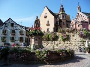 Eiguisheim, one of France's most beautiful villages.Join us on our 2019 tour to watch the Mille Miglia