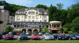 Our hotel in Luxembourg.Join us on our 2019 tour to watch the Mille Miglia