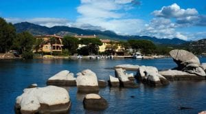 Our hotel in Porto Vecchio on Corsica's south east coast.Join us on our 2017 Corsica car tour.
