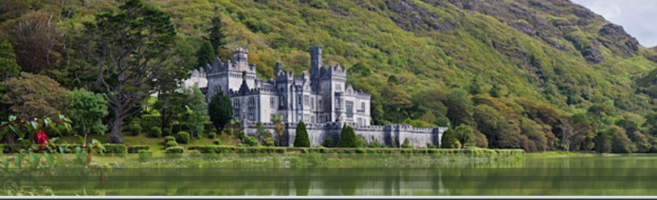 Kylemore Abbey and gardens