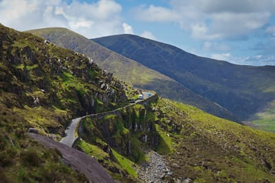 Connor Pass.Join us on our Ireland car tour
