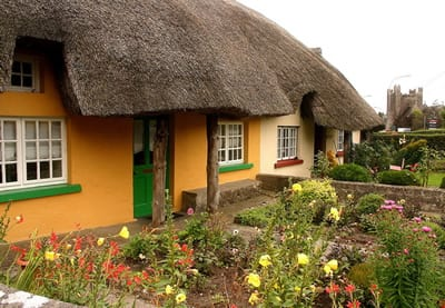 Adare.Join us on our Ireland car tour