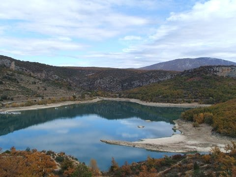 "Lac de Sainte Croix.Join us on our 2018  ""Winter weekend in Provence"" tour"