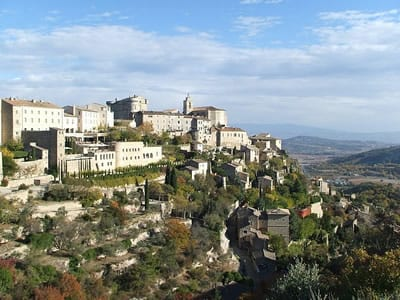 Gordes, Provence, Monaco Historic grand prix 2018 tour