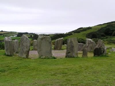 Drombeg Stone Circle.Join us on our Ireland car tour