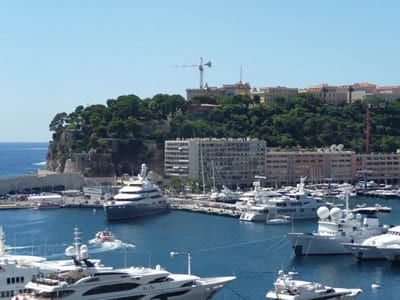 Monaco harbour, join us on our 2018 Monaco Historique grand prix tour