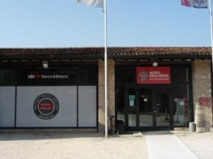 The Mille Miglia museum in Brescia.Join us on our 2018 Mille Miglia tour
