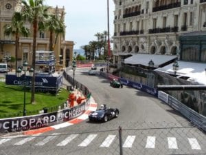 Monaco's Casino Square, join us on our 2018 Monaco Historic GP tour