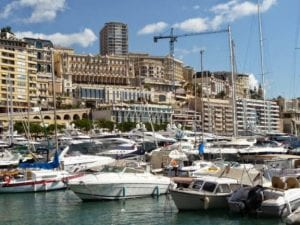 Monaco harbour, join us on our 2018 Monaco Historic GP tour