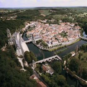 Brantome.Join us on our Angouleme Circuit des Remparts tour