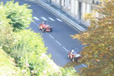 Angouleme racing around the remparts.Join us on our Angouleme Circuit des Remparts tour
