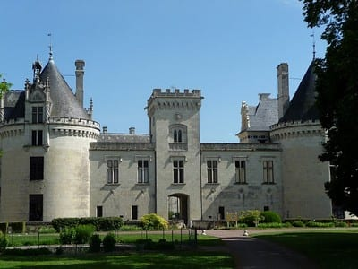 Breze chateau.Join us on our Loire Valley car tour