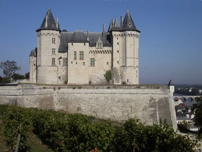 Chateau de Saumu.Join us on our Loire Valley car tourr
