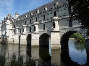 Chenonceau chateau.Join us on our Loire Valley car tour