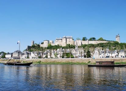 Chinon.Join us on our Loire Valley car tour