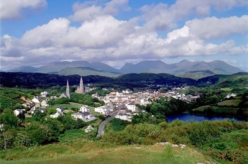 Clifden.Join us on our Ireland car tour