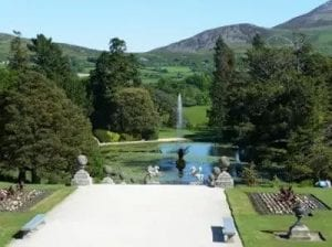 Powerscourt House - garden
