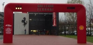 Ferrari museum ,Maranello, optional visit.Join us on our 2018 Mille Miglia tour