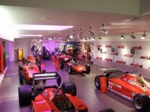 Ferrari Museum, Maranello. Join us on our 2018 Mille Miglia tour