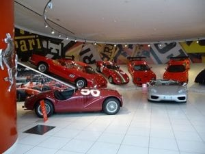 Ferrari Museum, Maranello. Join us on our 2018 Mille Miglia tour