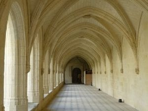 Fontevraud abbey.Join us on our Loire Valley car tour
