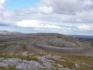 Burren National Park.Join us on our Ireland car tour