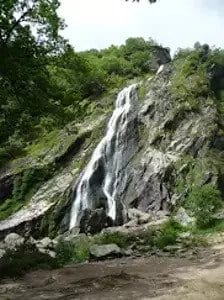 Powerscourt House waterfall
