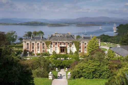 Bantry House.Join us on our Ireland car tour
