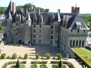 Langeais chateau.Join us on our Loire Valley car tour