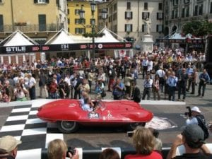 Mille Miglia, Brescia the start and finish of the Mille Miglia.Join us on our 2018 Mille Miglia tour