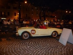 Mille Miglia 1st check point, Desenzano, Lake Garda.Join us on our 2018 Mille Miglia tour