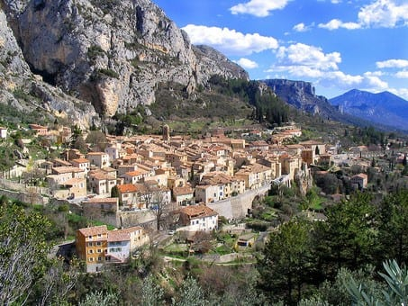 "Moustiers Sainte Maire,Provence.Join us on our 2018  ""Winter weekend in Provence"" tour"