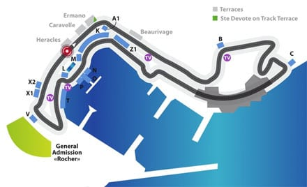 Circuit de Monaco.Join us on our 2018 Monaco historic grand prix tour