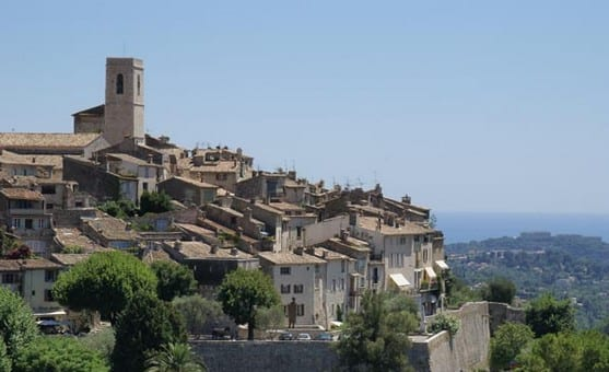 "St Paul de Vence.Join us on our 2018 ""Winter weekend in Provence"" tour"